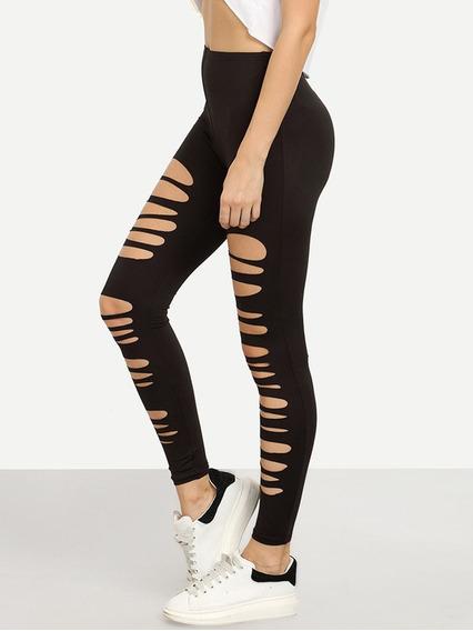 Pantalon Negro Roto Mercadolibre Com Mx