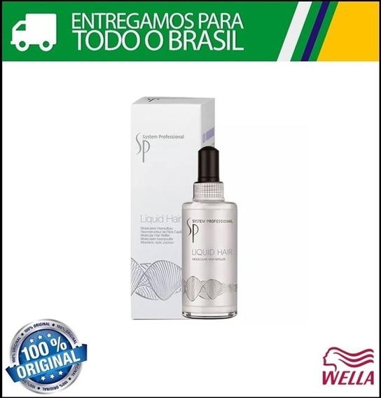 Wella Sp Liquid Hair Reparador De Moleculas 100ml Original