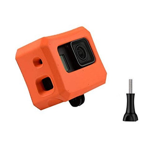 Makit Floaty Case, Orange For Gopro Hero 6, Hero 5 Black And