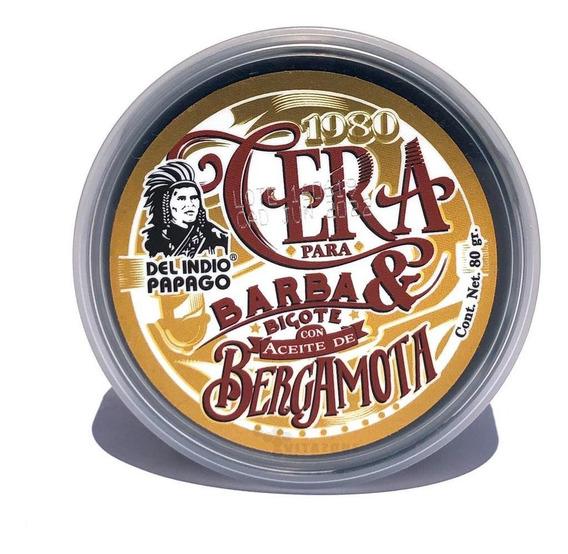 Cera Para Barba Y Bigote Con Aceite De Bergamota 88 Grs