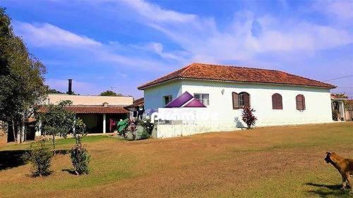 Chácara Com 4 Dormitórios À Venda, 9000 M² Por R$ 4.000.000,00 - Jardim Rafael - Caçapava/sp - Ch0071