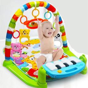 Tapete Ginásio De Atividades Bebê Som E Luz - Piano