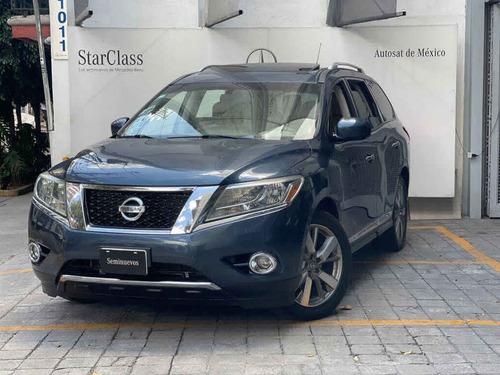 Imagen 1 de 15 de Nissan Pathfinder 2014 5p Exclusive V6/3.5 Aut