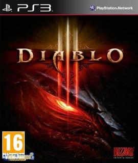 Diablo Iii Ps3 Juego + Tema Dinámico + Sountrack