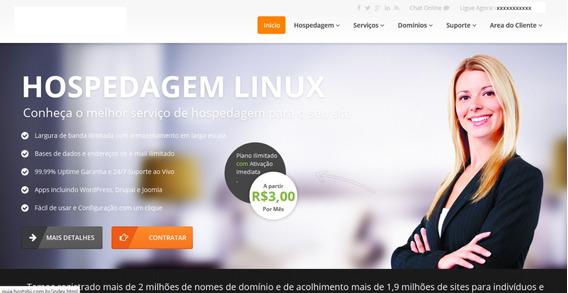 Template Html- Ainex Host - Revenda Hospedagem - Portugues