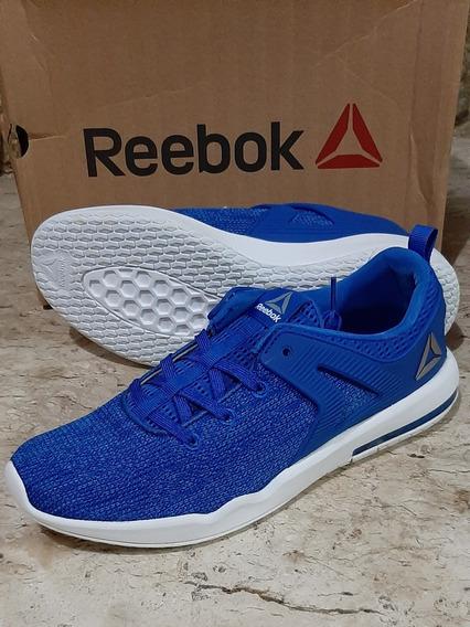 Tênis Hexalite Glide. - Azul & Branco - Reebok - 41