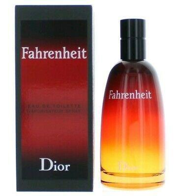 Fahrenheit Por Christian Dior 3.4 Oz Edt Spray Para Hombres