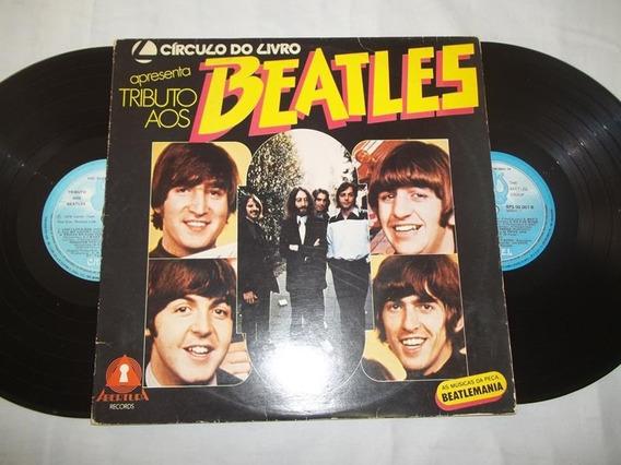 Vinil Lp - Círculo Do Livro Apresenta Tributo Aos Beatles