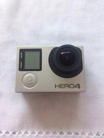 Gopro Hero4 Silver Lcd Touch Filmadora Full Hd 4 - Bem Nova