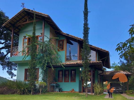 Chácara Com 3 Suítes À Venda, 6597 M² Por R$ 1.200.000 - Pau D`óleo - Guarapari/es - Ch0003