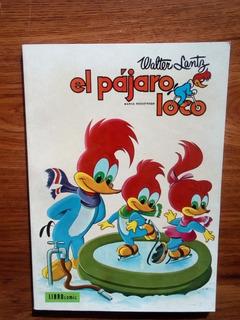 El Pájaro Loco. Tomo 8. Libro Comic. Novaro 1974