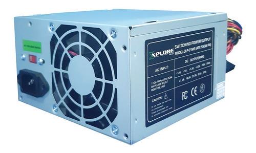Fuente De Poder Explorer Power 550w 20+4 30a Pines Atx