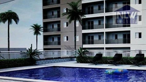 2 Dormitórios À Venda, 50 M² A Parir De 189.000 - Ferraz De Vasconcelos/sp - Ap0865