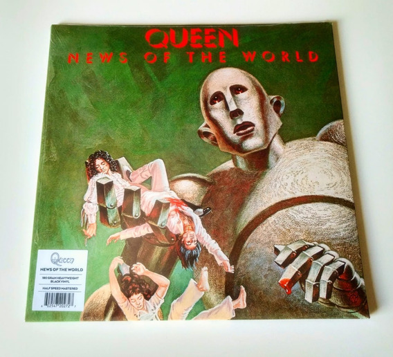 Lp Queen News Of The World 180g Gatefold Greatest Hits I Ii
