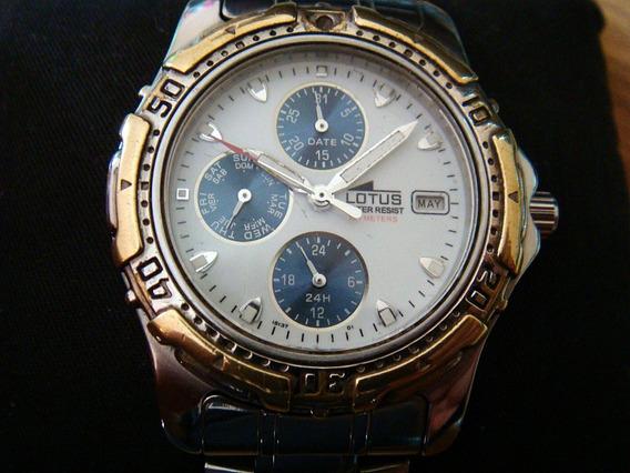 Reloj Lotus Model Collection 15137. 100% Original.