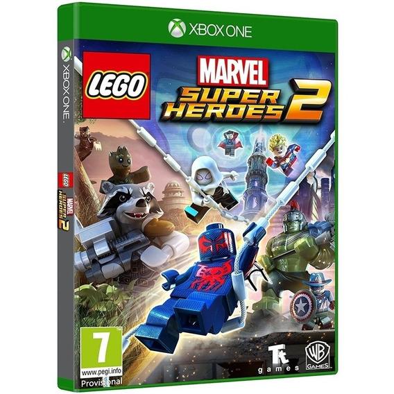 Jogo Lego Marvel 2 Xbox One Disco Fisico Cd Original Lacrado