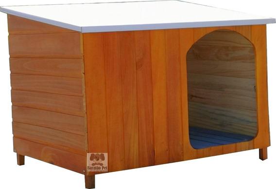 Casinha Cachorro Grande Telhado Galvanizado Grande