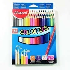 Lapis De Cor Maped Color Peps - 36 Cores