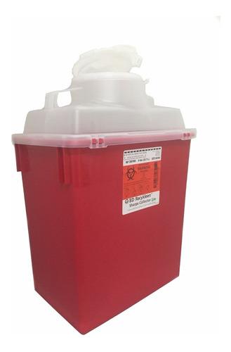 Imagen 1 de 3 de Bote Para Desechos Punzocortantes O Liquidos Bd Recykleen