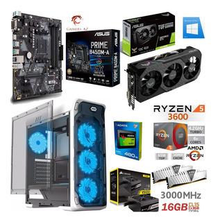 Pc Gamer Ryzen 5 3600 Gtx 1660 Super = Ti 16gb 3000mhz Ssd
