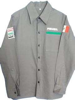Camisola Gris Pemex Nuevo Diseño