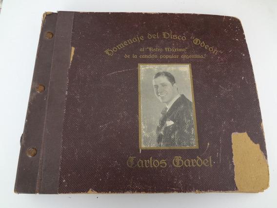 6 Discos De Pasta Carlos Gardel - De Epoca, Rareza