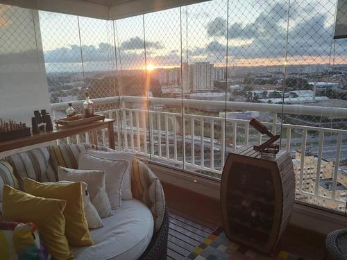 Apartamento Com 3 Dormitórios À Venda, 107 M² - Vila Lusitânia - São Bernardo Do Campo/sp - Ap65370