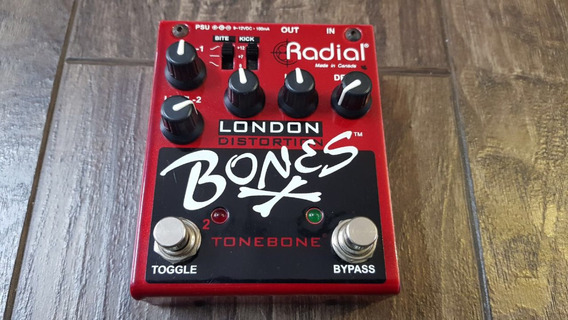 Pedal Radial London Bones Distortion - High Voltage
