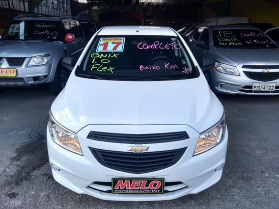 Chevrolet Onix 1.0 Flex Ano 2017 Completo Baixo Km Impecável