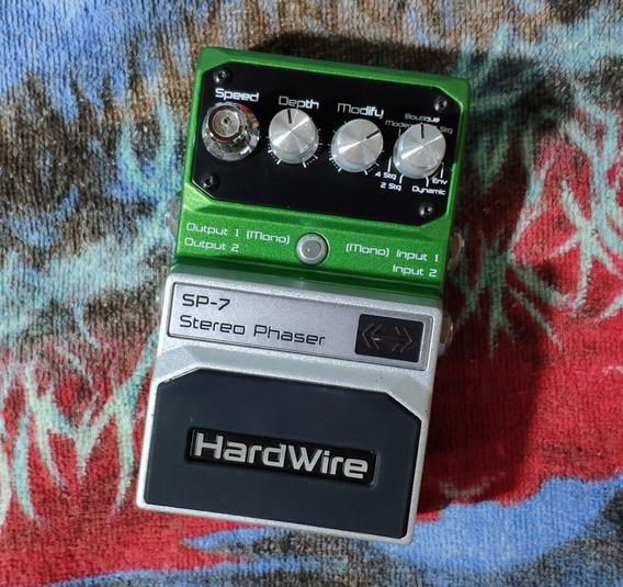 Hardwire Sp-7 Stereo Phaser - Willaudio