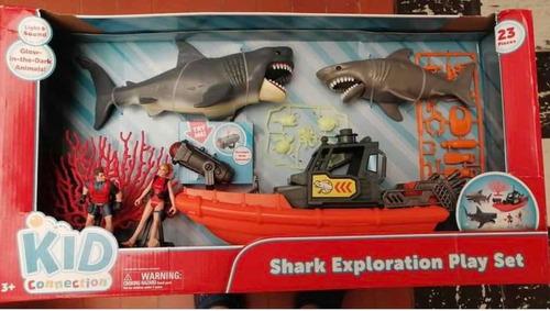 Tiburones Sharks Con Sonido Y Luz El Bote