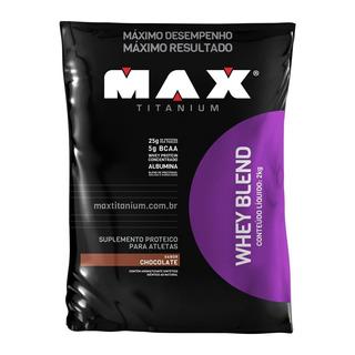 Whey Blend Refil - 2 Kg- Max Titanium