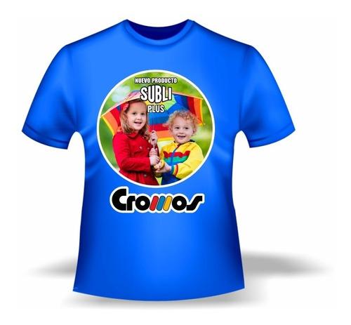 Imagen 1 de 6 de Vinilo Sublimable Textil Termotransferible Camiseta