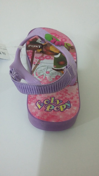 Chinelo Infantil Beira Mar Loly Poly