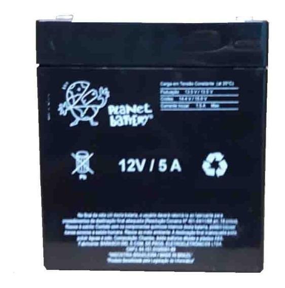 Bateria Selada 12v 5ah Planet Battery