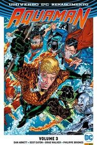 Encadernado Aquaman Renascimento 3 Lacrado Frete Grátis