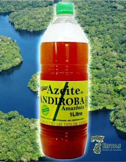 Azeite De Andiroba 1 Litro In Natura