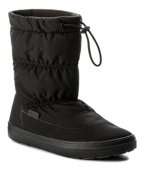 Bota De Lluvia Crocs Lodgepoint Pull On Boot C203422 Asfl70