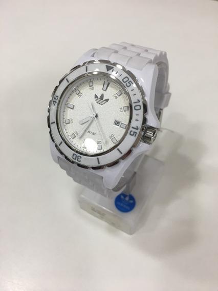 Relógio De Pulso adidas Adh2670z Branco Feminino Original