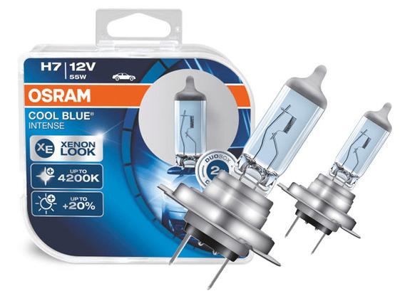 Lâmpada Osram Cool Blue H7 Super Branca 4200k Efeit Ef.xenon