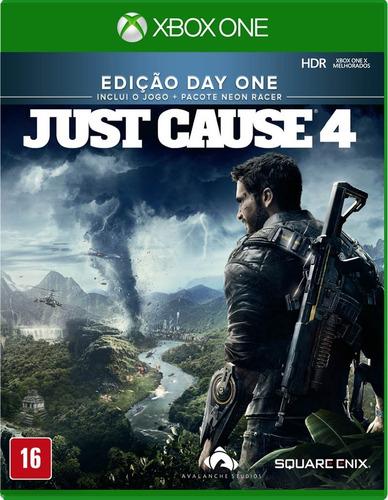 Just Cause 4 Edição Day One Xbox One - Mídia Física