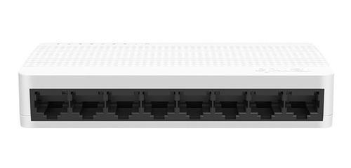 Imagen 1 de 5 de Switch Suiche 8 Puertos Ethernet Rj45 Cable 200mbps