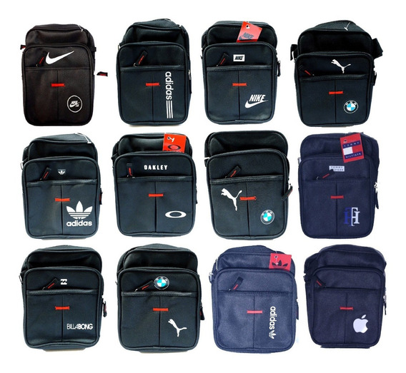 Bolsa Shoulder Bag Lateral Transversal Linda adidas Bmw Puma