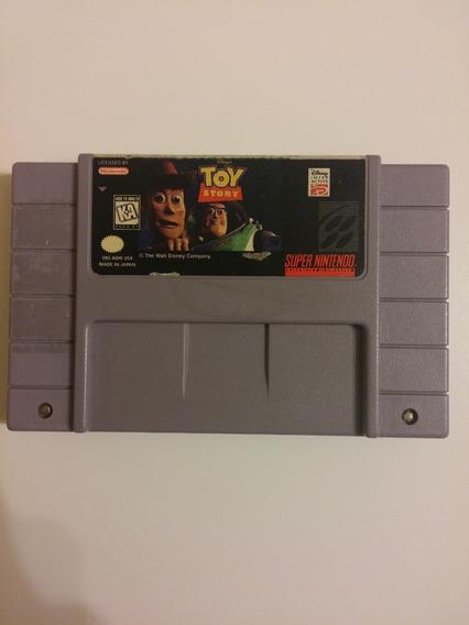 Super Nes: Disney Toy Story Original Americano! Com Garantia