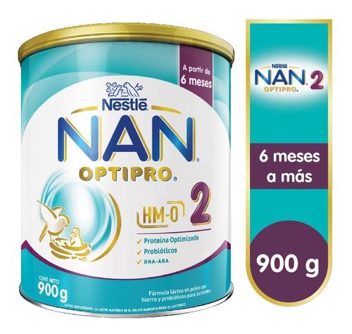 Nan® 2 Optipro® 900g - Fórmula Láctea En Polvo