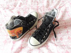 Tênis Converse All Star Metallica Original Nº 33