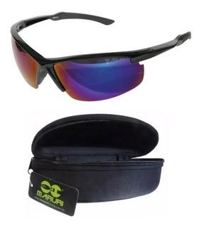 Óculos Pesca Maruri® Polarizado Espelhado Anti-reflexo #6575