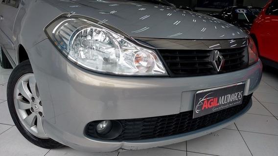 Renault Symbol 1.6 Privilege Único Dono 2010 Bege