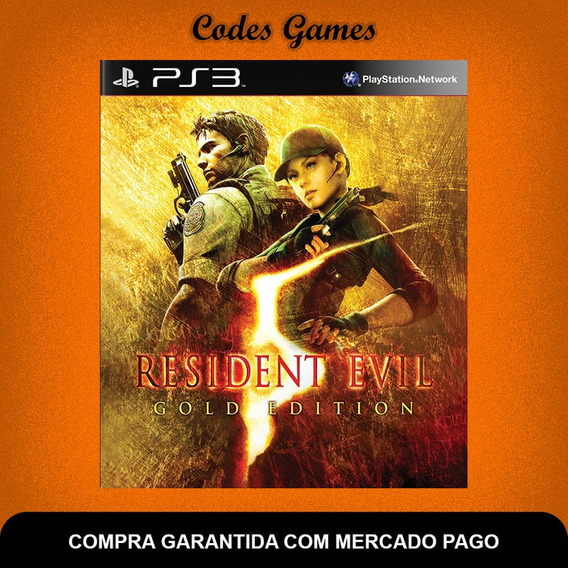Resident Evil 5 Gold Edition - Ps3 - Pronta Entrega