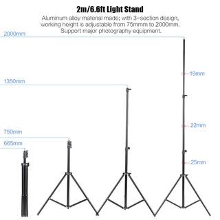 Kit De Iluminación Para Estudio Fotográfico Andoer - Us 120v